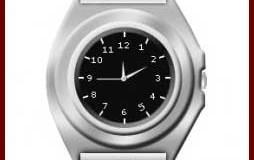 ساخت ساعت نقره ای در فتوشاپ