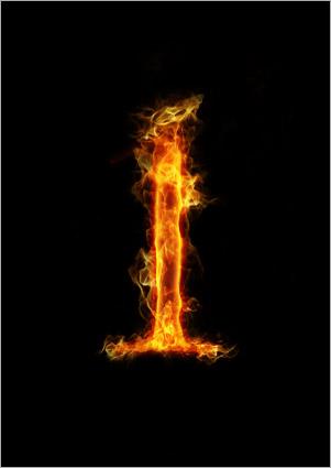 تهیۀ چندین لایه از شعلهها