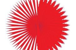 نتیجۀ تکرار متوالی یک لایه در فتوشاپ